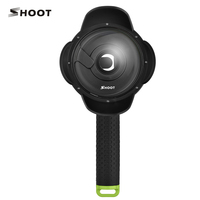 SHOOT 4inch Xiaoyi Dome Port Waterproof Xiaoyi Accessories