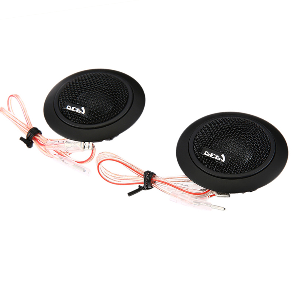 free shipping 2pcs 2x120W Universal High Efficiency Car Mini Dome Tweeter Loud Speaker Super Power Audio Auto Sound