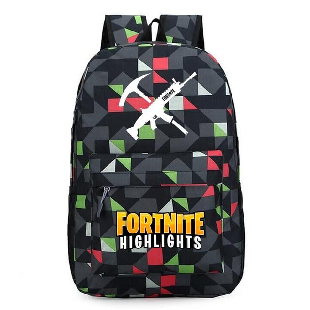 Новые поступления Fortnite рюкзак школьные сумки для мальчиков ранцы для подростков с принтом Школа Рюкзак 12 Цветов