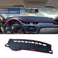 Evitar A luz do painel do carro Instrumento pad cover secretária plataforma Mats Tapetes Auto acessórios Para Skoda Octavia A7 2015 Car Styling