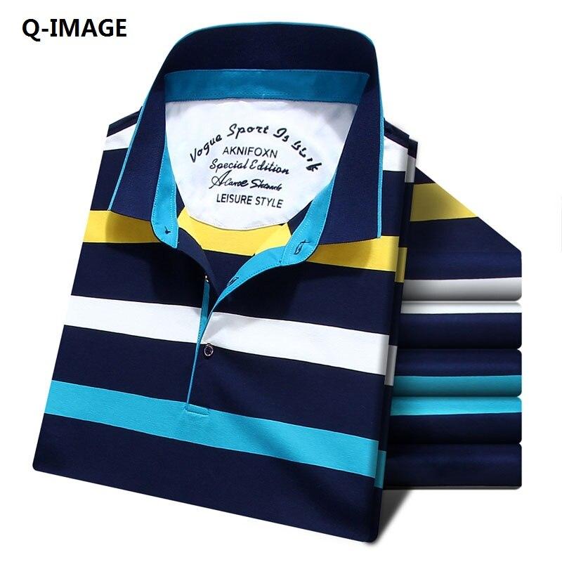 2017 new casual men stripe   polo   shirts fashion short mens cotton   polo   shirt men slim fit   polo   shirt