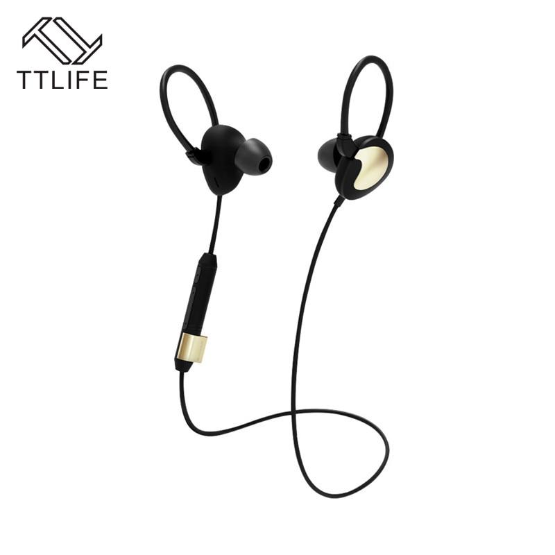 TTLIFE Bluetooth Earphone S1 Wireless Sports Waterproof Headset Music Stereo Headphones WIith Apt-x For Phone Xiaomi Original kz headset storage box suitable for original headphones as gift to the customer