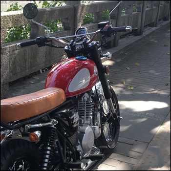 1pcs Retro 22*770mm motorcycle modification handlebars 22MM for Tracker.scrambler off-road steering handlebar