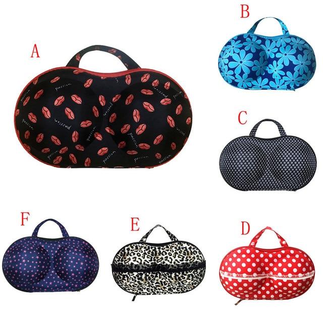 New Fashion Women Underwear Storage Bag Protect Bra Organizer Container Case Travel Lingerie Box Multicolor Storage Box