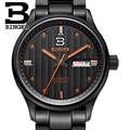 Switzerland watches men luxury brand Wristwatches BINGER business Mechanical Wristwatches sapphire full stainless steel B5006-5