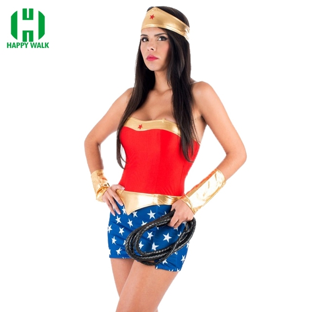 Hot Sale High Quality Women Fantasias Party Superhero Halloween