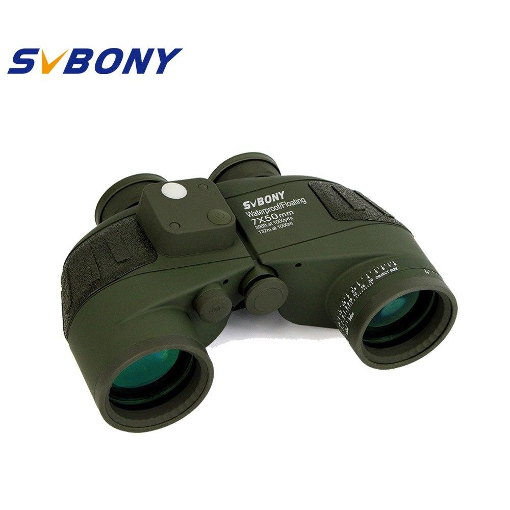 SVBONY 7x50 Binocular Militar Telescopio Binocular Óptica Profesional y Interna