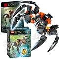 145 unids bela bionicle hero señor de cráneo arañas modelo figura de acción building blocks ladrillos niños juguetes compatibles con lego