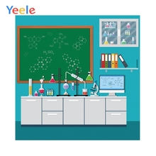 Yeele School Chemistry Lab Students Children Party Personalized Photographic Backdrops Photography Backgrounds For Photo Studio