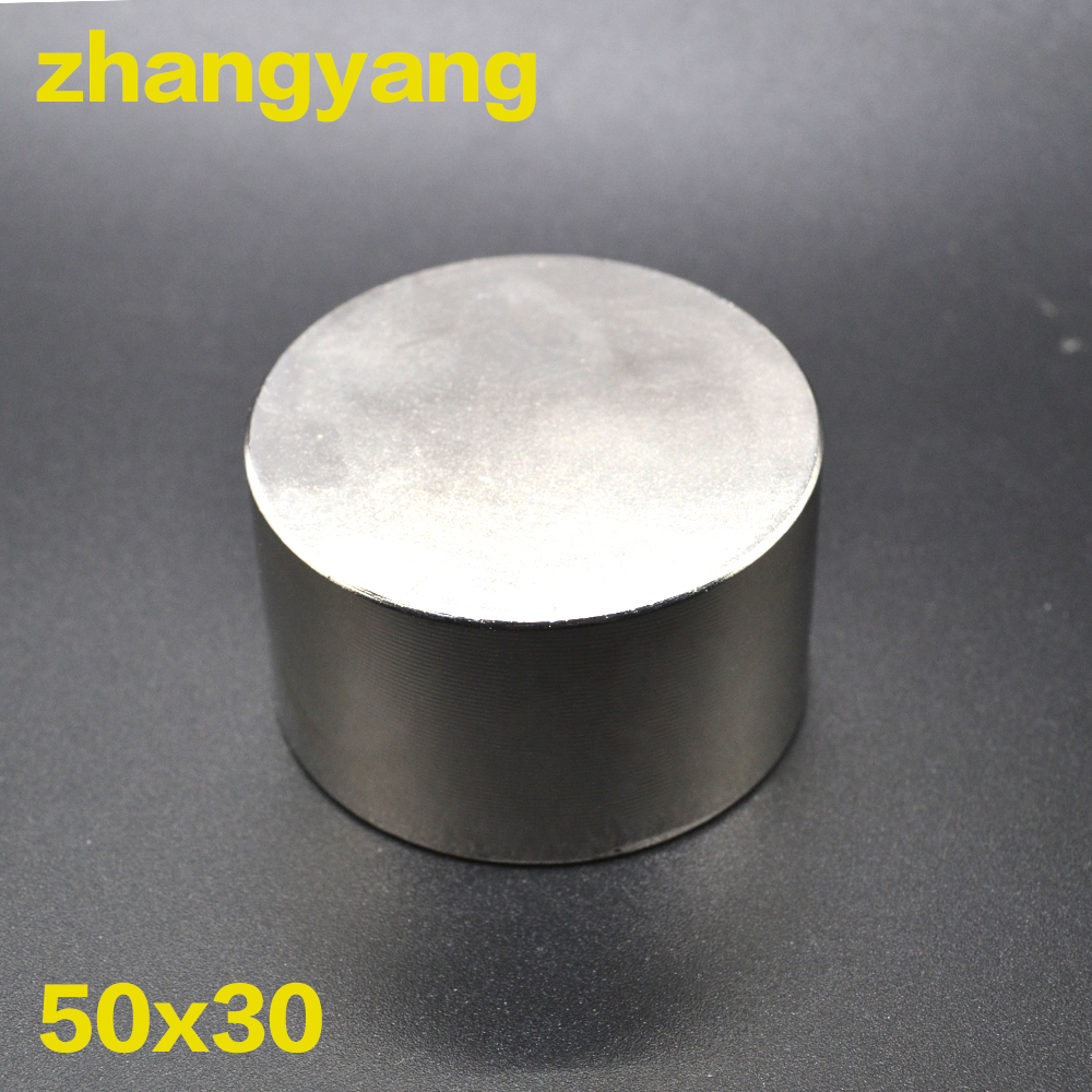Neodymium magnet N35 D50x30mm super strong round magnet Rare Earth NdFeb 50*30mm strongest permanent powerful magnetic 50mm x 30