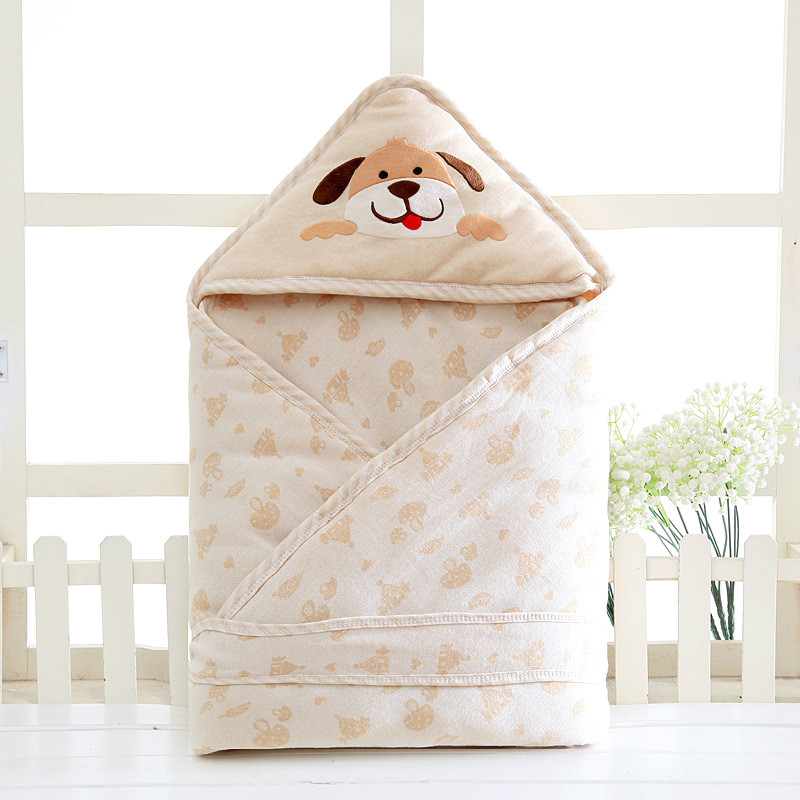 Infant windproof blanket Eco-friendly cotton warmer baby swaddling wrapped blanket baby sleeping bag bedding sleep nack 90*90cm infant baby sleeping bag baby blankets quilt thick natural cotton sleeping bag detachable sleeves newborn swaddling clothes