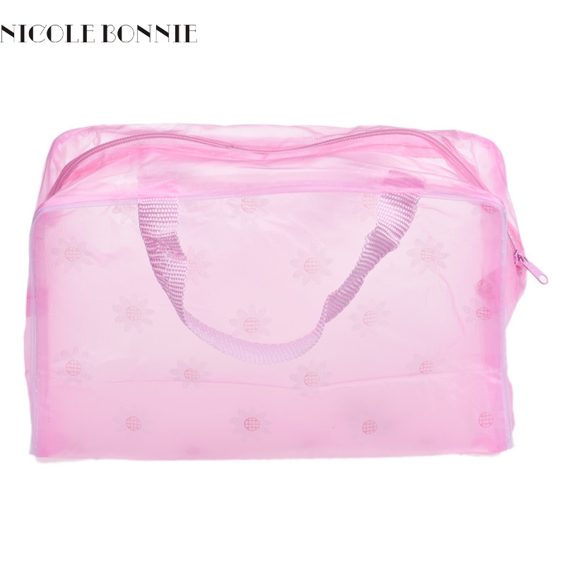 Wholesale New Fashion Women Makeup Bag Portable Make up Cosmetic Bag Toiletry Travel Wash Toothbrush Pouch Organizer Bag Tools
