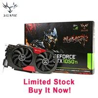 New Arrival Stocks Colorful GTX 1050Ti NVIDIA Graphics Card GeForce IGame GTX1050Ti GPU 4GB GDDR5 128bit