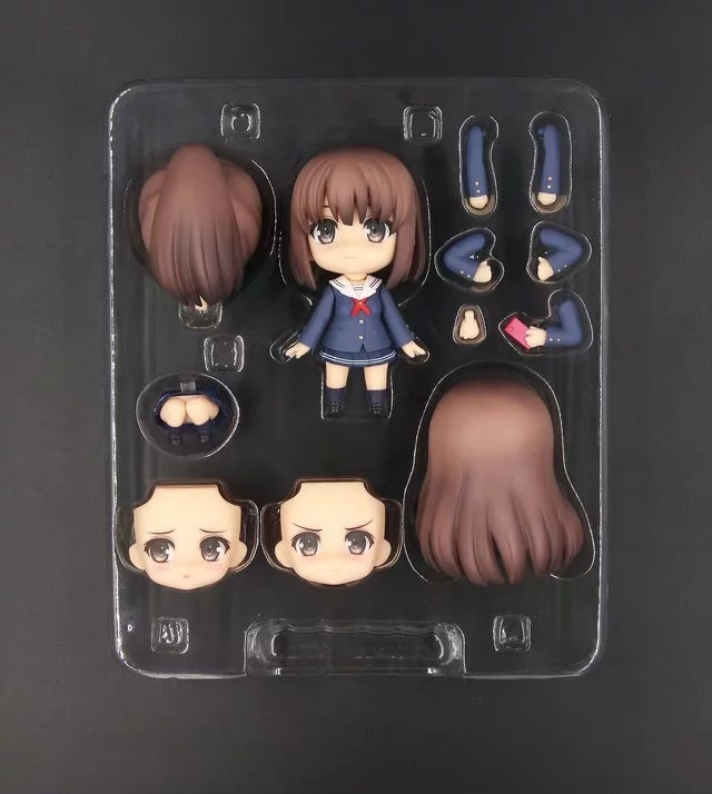 10cm Japanese Anime Figure Nendoroid Saenai Heroine No Sodate-Kata Kato Megumi Figure 704# Kato Megumi PVC Action Figure Toy Bri