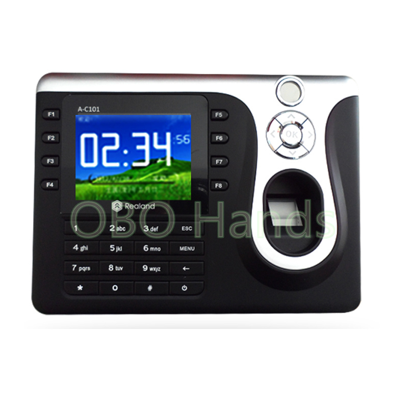 Free shipping biometric time attendance system for fingerprint door lock and access control system door security fingerprint access control reader biometric fingerprint time attendance and access controller