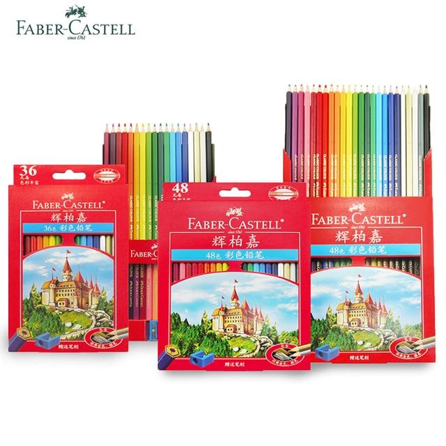 Faber Castell 72 Colored Pencils Lapis De Cor Professionals Artist ...