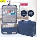 Nueva Llegada de Las Mujeres de Maquillaje Portátil de Viaje Bolsa de Cosméticos de Gran Capacidad bolsa de Los Hombres Bolsa de Viaje de Almacenamiento Higiénico Maquillaje Kit Envío gratis