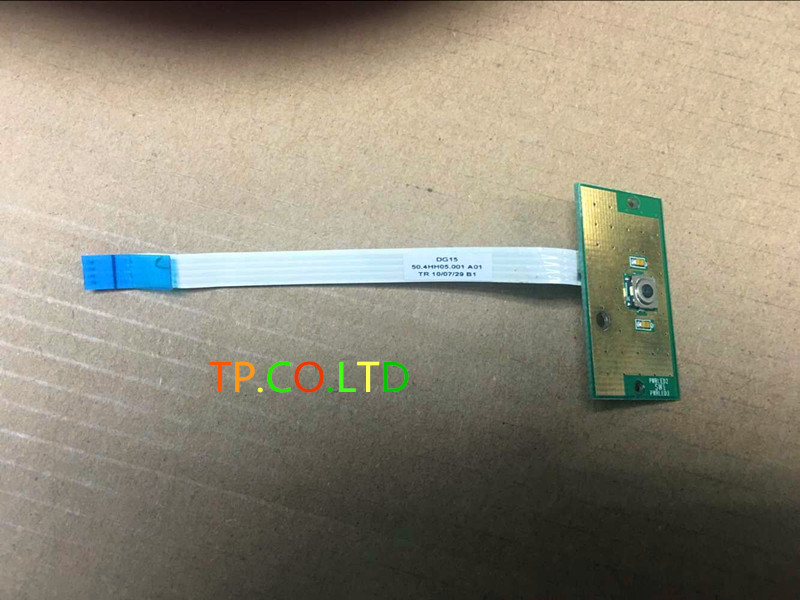 NEW FOR Dell Inspiron N5010 M501R M5010 Power Button Board w/ Ca ble 50.4HH05.001 new power button board for dell inspiron 14 5455 15 5555 5558 5559 3558 switch board ls b844p