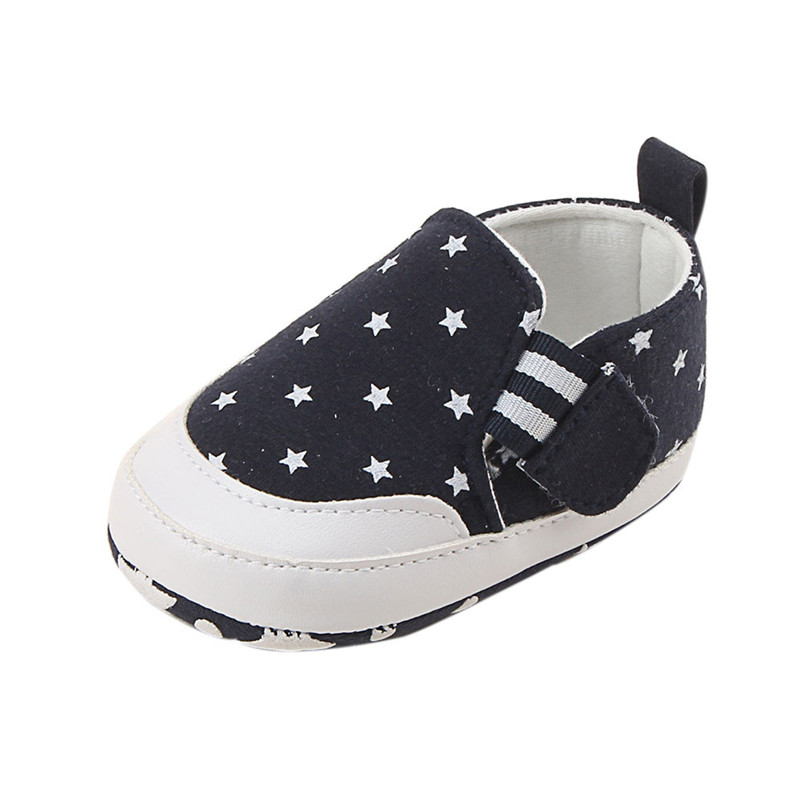 Baby shoes 2019 new Newborn Infant Baby Girl Boy Print Crib Shoes Soft Sole Anti-slip Sneakers Shoes #4M14 (18)