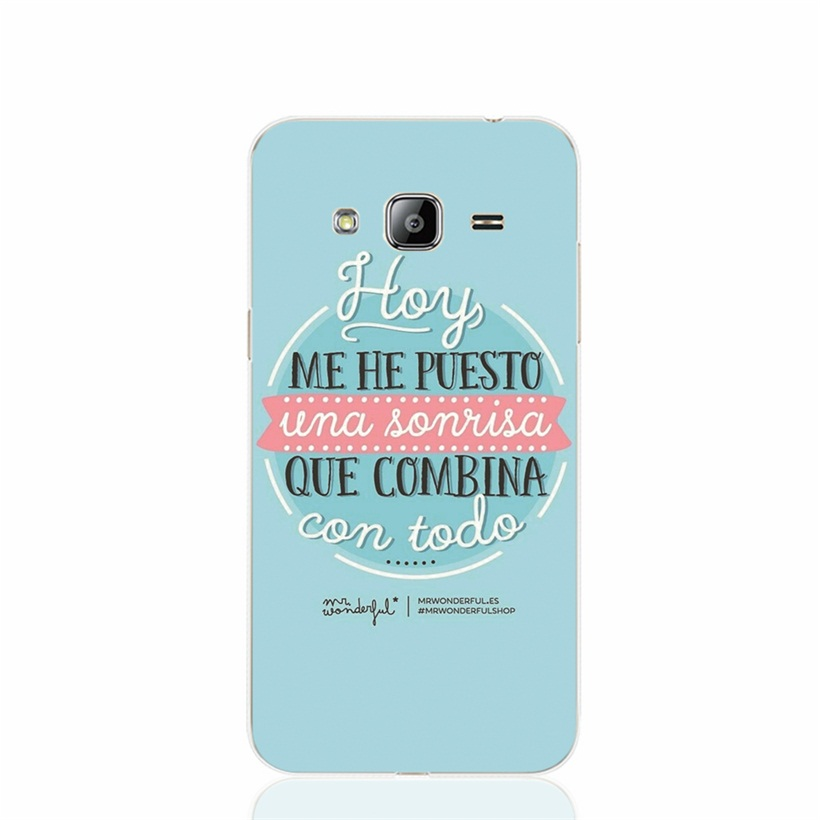 27219 Mr Wonderful puesto cell phone case cover Samsung Galaxy J1 J2 J3 J5 J7 MINI ACE 2016 2015 ON5 ON7  -  ShenZhen D111 Store Store store