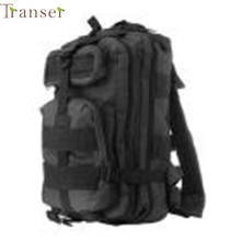 Transer Peces Domingo de Camping montañismo bolsa mochila de senderismo al aire libre 3 P impermeable paquete táctico gran espacio de almacenamiento Mar09