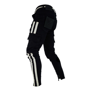 Image 2 - ดีทำงานทหาร Cargo Camo ต่อสู้กางเกงพลัสขนาดด้านข้าง Stripe HIP POP สไตล์ Streetwear ผู้ชายกางเกง Casual Camouflage streetw