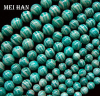 Wholesale Natural Rare 8mm 10mm 12mm Russian Amazonite Beads Stones For Jewelry Design Making