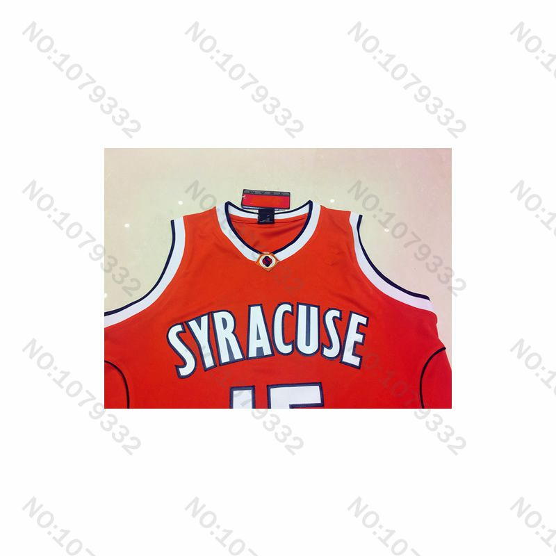 99768138282 ... best price mens syracuse college 15 carmelo anthony jersey orange white  yellow oak hill high school