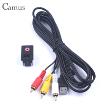 3 RCA Car AUX USB Adapter Suitable for Toyota Volk-swagen modified