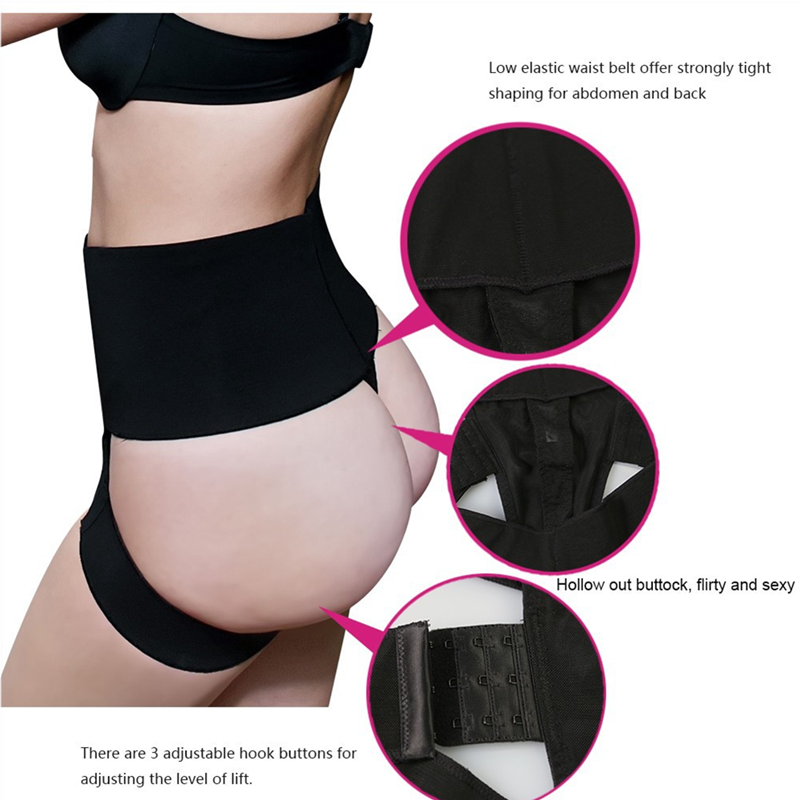 82bd27e7019e1 Womens Butt Lifter Tummy Control Boy Shorts Shaper Bum Lift Pants Buttock  Enhancer Booty Control Slimmer