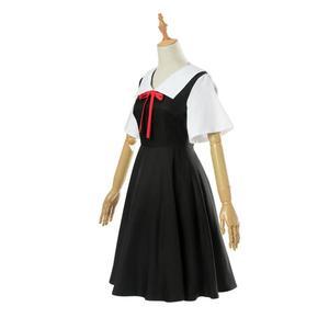 Image 2 - אנימה Kaguya sama: אהבה היא מלחמת קוספליי תלבושות Kaguya צ יקה קוספליי תלבושות יפני בית ספר אחיד נשים קיץ שמלת ופאות