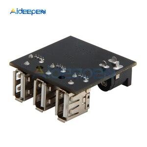 Image 5 - 3 USB Mini moduł ładowania obniżanie mocy power bank Board DC DC 9 V/12 V do 5V 8A przetwornica obniżająca napięcie dla Arduino