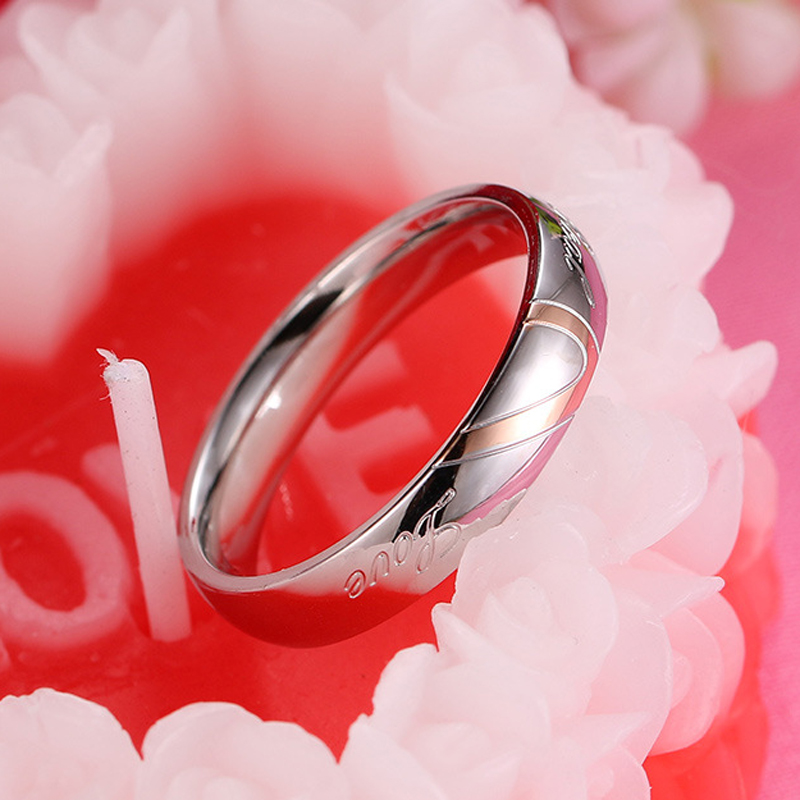 CAR6 silver ring women and man