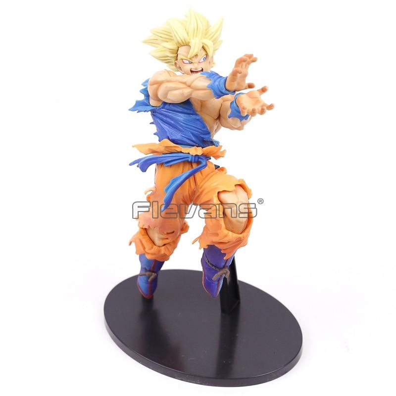 Banpresto Monde Figure Colisée Dragon Ball Z Super Saiyan Goku Fils BWFC Vol.1