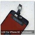 10 pçs/lote para iphone 5c display lcd assembléia substituição da tela sem dead pixel qualidade aaa frete grátis