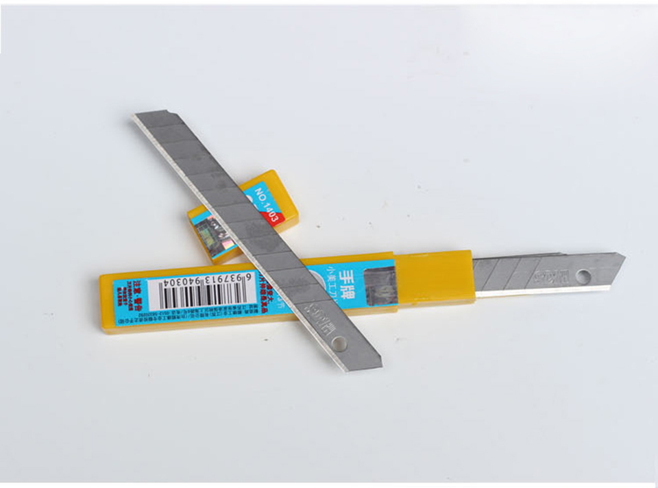 Image 5 - 60 Degree High Carbon Steel Knife Replacement Blade 9mm 50 Blades/Pack SDI 1403-in Car Stickers from Automobiles & Motorcycles