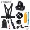 Head Strap Chest Strap Helmet Belt Floaty Bobber Wrist Band Wrench Mount Screw For Gopro Hero