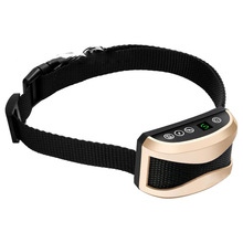 Electric Shocks Rechargeable Dog Training Collar Beep Mode, Vibration Mode and Static Shock Golden collar perro