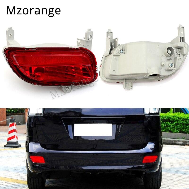 1Pcs Red Rear Tail Fog Light Lamp Left Side For Mazda 5 2008