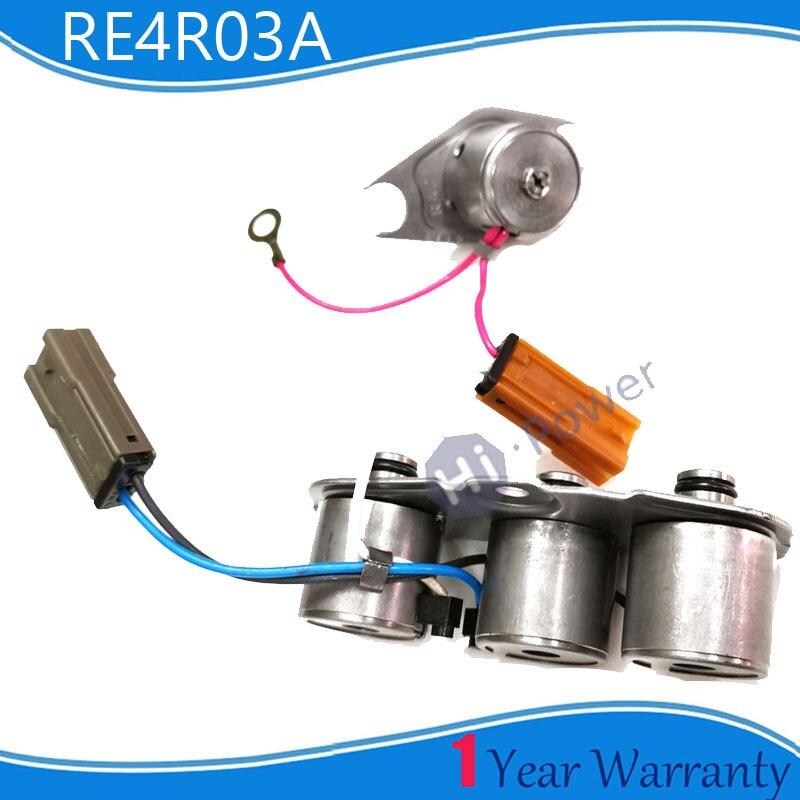 RE4R01A RE4R03A 31940-41X09 Kit de solénoïde de Transmissions pour Mazda Nissan Xterra Frontier Pathfinder 240SX 300ZX Infiniti QX4 J30