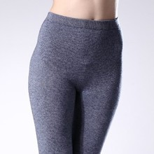 2017 women leggings winter warm solid colour Pants Cashmere Knitted Female Wool legging for women Ladies fitness legging