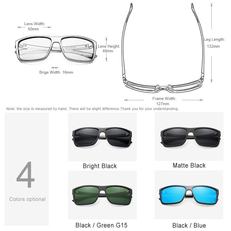 KINGSEVEN Marca Gafas de Sol de Estilo Vintage Hombres UV400 Clásico - Accesorios para la ropa - foto 4