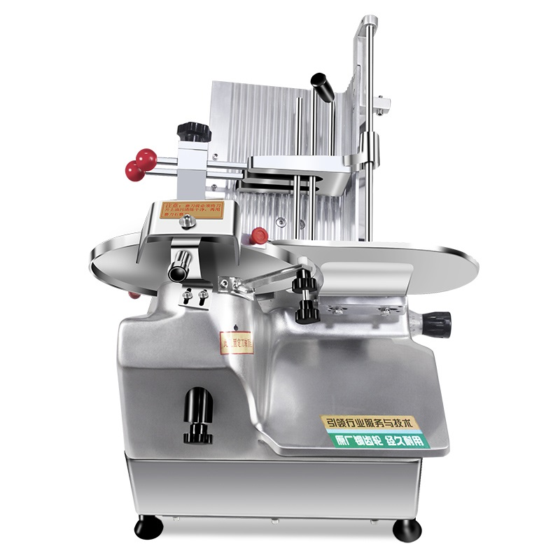 Automatic Meat Slicer Electric Meat Slicer Fat Cow Lamb Roll Ham Cheese Slicer Commercial Use Electric Flaker
