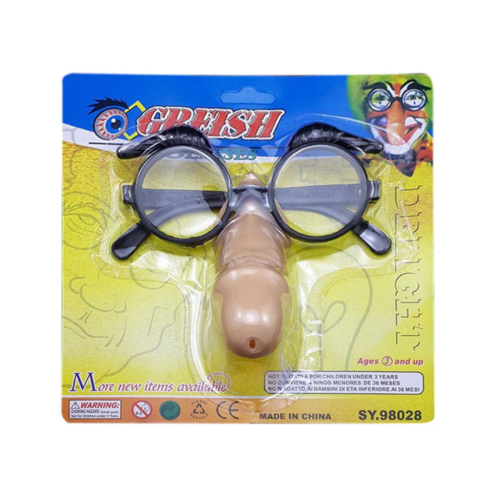 2018 Novelty <font><b>Funny</b></font> Dick Glasses Adult Party Gag Joke Toy Amusing Party Supplies image