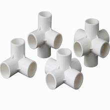 inner diameter 20MM 25MM 32MM 3P 4P 5P 6P PVC Pipe Fittings water fittings  pipe fitting 3 tri clamp 4 5 6 FREE SHIPPING