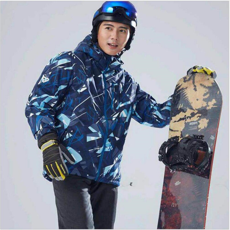 Free Shipping-New Men Outdoor Sport Winter Warm Thick Waterproof Windproof Camouflage Mountaining Hiking Skiing Jacket 7011 free shipping winter parkas men jacket new 2017 thick warm loose brand original male plus size m 5xl coats 80hfx