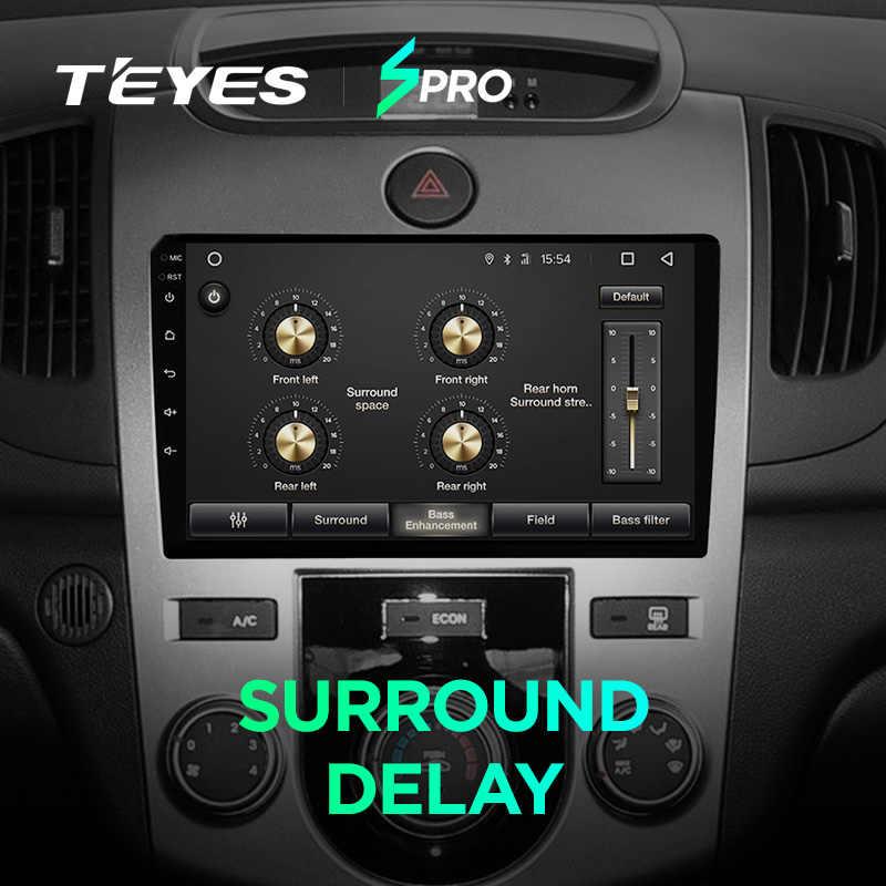TEYES SPRO coche dvd gps reproductor multimedia para KIA Cerato 2 2008-2013 dvd navegación radio video reproductor de audio sin coche 2 din
