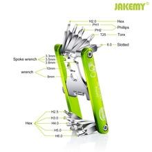 цена на 11 In 1 Bicycle Repair Tools Mountain Road Bike Multi Repair Folding Tool Set Kit Spoke Hex Wrench Screwdriver Multifunction