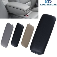 2015 High Quality Leather Arm Rest Console Box Armrest Lid Cover For Audi A4 B6 A6