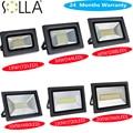 LED Flood Light 200W 150W 100W 60W 30W 15W Reflector Floodlight Spotlight 220V 110V Waterproof Outdoor Lamp Garden Projectors
